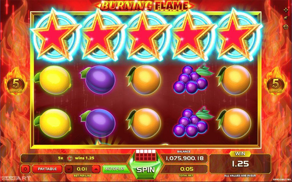 Download burning flame gameart casino slots horseshoe secrets