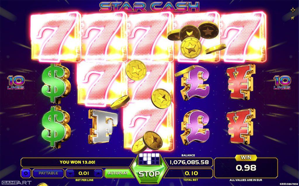 Stargames Cash Out